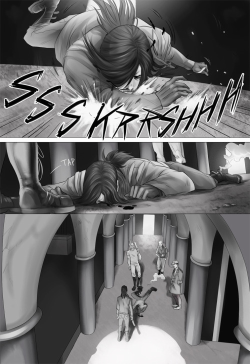 « PREVIOUS | PAGE 6 | NEXT » Lines, Flats & Shading: ElephantWendigo Story: ElephantWendigo & TheSoul Beta: deppfan85 YOU CAN READ THE COMIC ON SMACKJEEVES AS WELL. UPDATES EVERY FRIDAY!