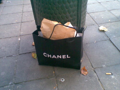 "ferllys:  don""t you wish your garbage bag was chanel"