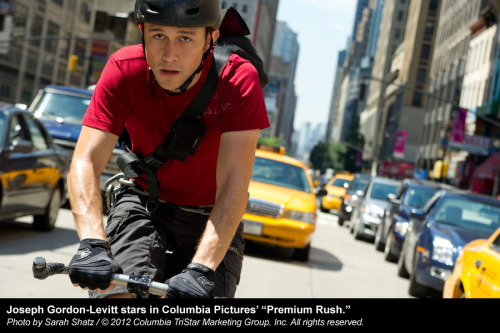 "REVIEW: Sony Pictures' ""Premium Rush"" with Joseph Gordon-Levitt. ""Audiences can live vicariously through these cycling daredevils."" Full review."