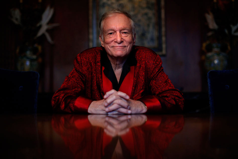 Playboy founder Hugh Hefner writes passionate plea in support of gay marriage.