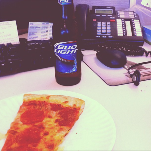 Friday office supplies. Photo credit: Christina