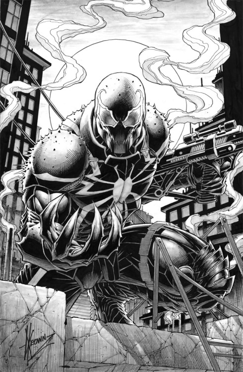awyeahcomics:  Venom by Dale Keown