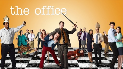 Key Art: 'The Office' Season 9 | TVLine Interesting that Mindy Kaling is still on the poster.