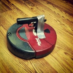 New roomba home security model. #roomba #guns #homedefense  (Taken with Instagram)