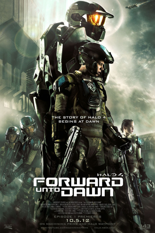 gamefreaksnz:  Halo 4: Forward Unto Dawn 'Enlist' trailer  Microsoft has released a new video from the live-action Halo 4 series, Forward Unto Dawn.