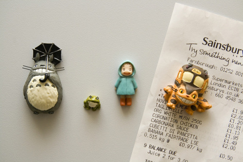 fuckyeahjapanandkorea:  Totoro Fridge Magnets by The Quiff Is Dead