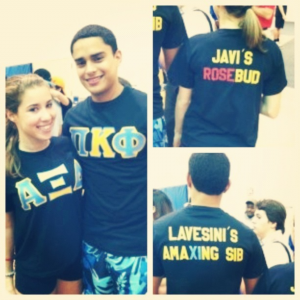 The best of both worlds 💙💛 #axid #pikappaphi  (Taken with Instagram)
