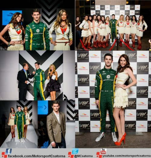 Alexander Rossi on the Austin Fashion Week