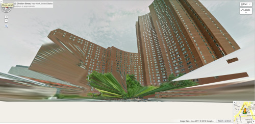 Lower ManhattanThat looks like it came from the Google Maps stereostropic viewer to me. I've never seen anything on Division Street look this good.