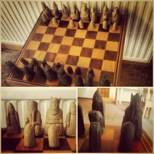The Kettle House B&B has #WizardsChess!! #HarryPotter #whereisronweasleywhenyouneedhim? #Scotland #LochNess #aroundtheworldtour2012 (Taken with Instagram at The Kettle House B&B)