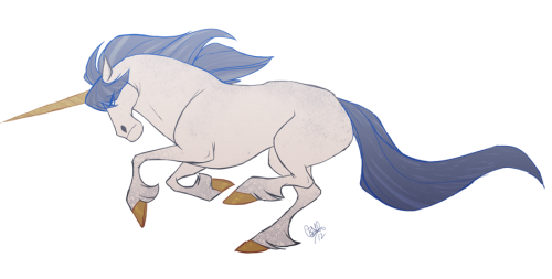 Sometimes you just have to draw a unicorn.