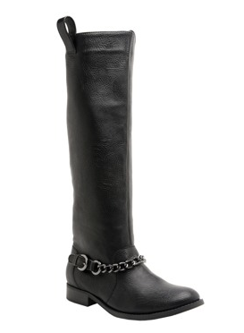 Working in fashion has its props! These Britta Boots are by Rocket Dog (the company I am working for) are great for Fall, I love the chain detailing- gives these riding boots an extra kick and with an employee discount totally a steal! xox