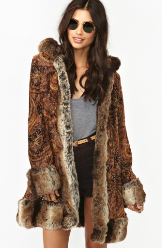 How RAD is this coat from MINKPINK?!?!?!  '60s-inspired and named after the one and only Jimi Hendrix is all the more reason for me to get one :)