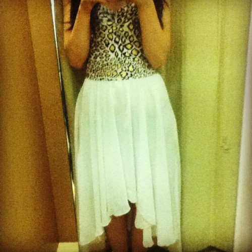 So I really wanted this dress but the shop didn't have my size :(  (Taken with Instagram)