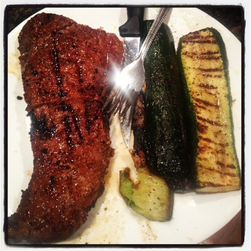 #SteakNight (Taken with Instagram at The Haunted Hollow)