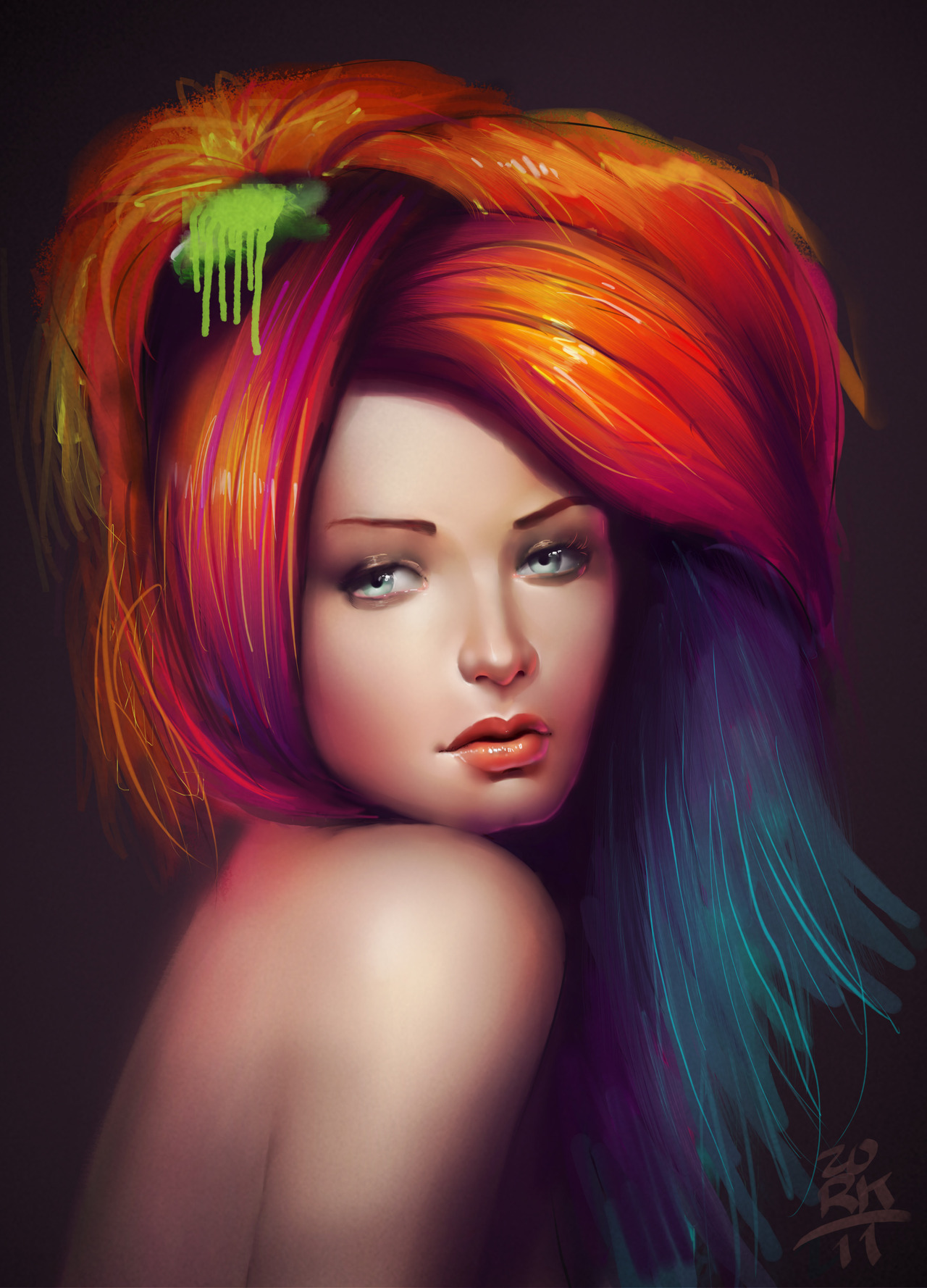 Digital art selected for the Daily Inspiration #1225