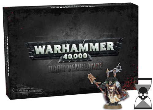 Dark Vengeance Starter Set now available for pre-order. Only $107 for the set, with special cut figure case available too. The only downside is that the new Interrogator-Chaplain is only part of the Limited Edition.