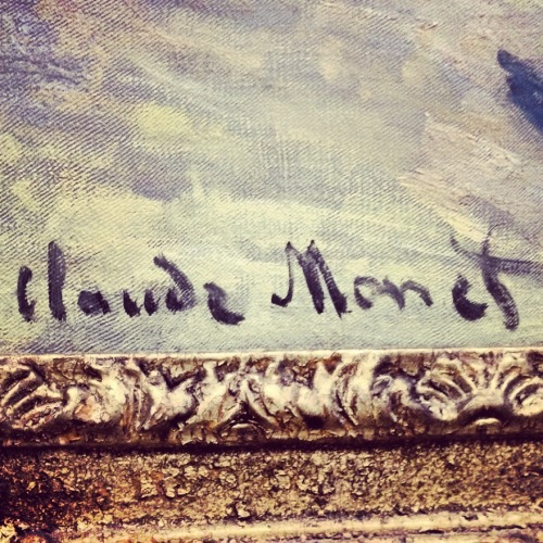 alohomaura:  philadelphia museum of art | Claude Monet