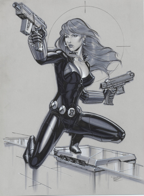 Black Widow ~by Michael Dooney