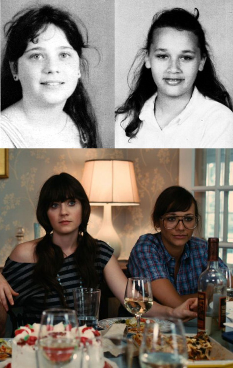 Zooey Deschanel and Rashida Jones