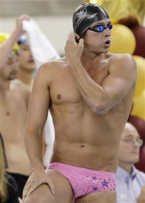 mikestand:  THINK PINK with Ryan Lochte