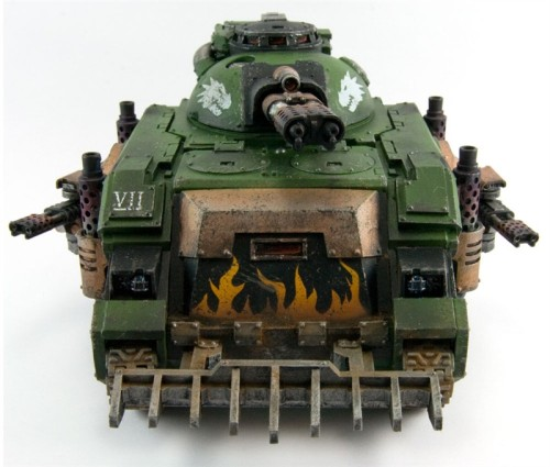 dansworkdesk:  New Forge World alternate Predator, the Infernus. Because there is no such thing as too much fire! Why is this not available to the Sisters of Battle?