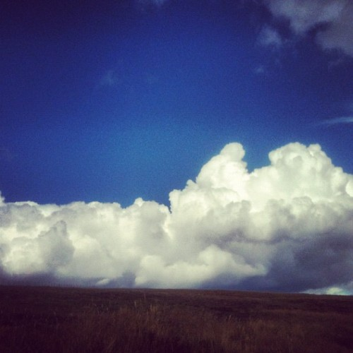 #Scotland is full of awe inspiring things— like #clouds! #ScottishHighlands #aroundtheworldtour2012 (Taken with Instagram at Cairn O' Mount)