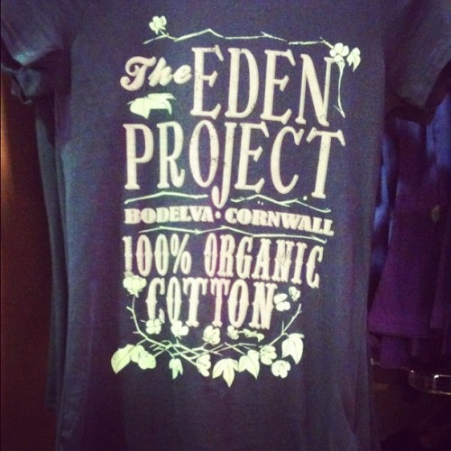 Eden also like their typographic T-shirts here's one sample of many… (Taken with Instagram)