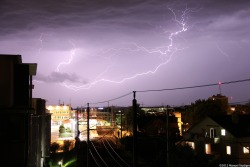 Electrifying! (From my balcony)