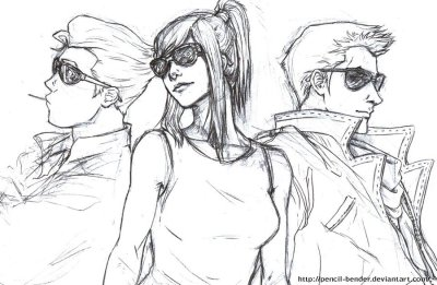Sporting Shades by ~Pencil-Bender  OH MY GOODNESS