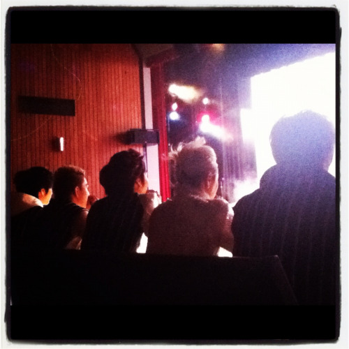 NU'EST as special judge at Kpop Contest 2012 in Sydney! I sit 30cm behind them! OMG! >