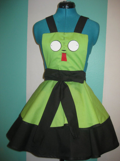 Gir - Invader Zim - Inspired Cosplay Pinafore Commissions are Open  - Darling Army
