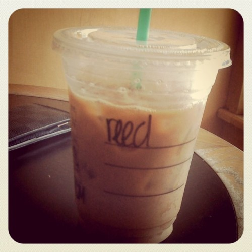 Spelling my name wrong everyday… #coffee #reed (Taken with Instagram)