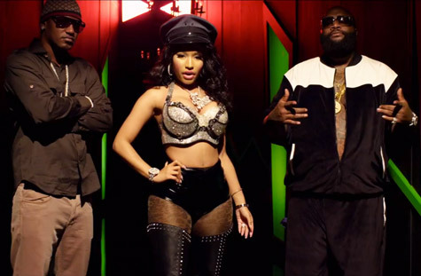 NICKI MINAJ (Ft. CAM'RON & RICK ROSS) – 'I AM YOUR LEADER' (Video Screenshot)