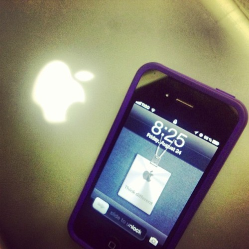 Tonight, the night belongs to #Apple! #ThankYouSteve (Taken with Instagram at Activa! Solutions)