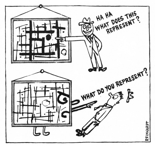 aa-vv:  Ad Reinhardt - How To Look At Modern Art In America (1961)