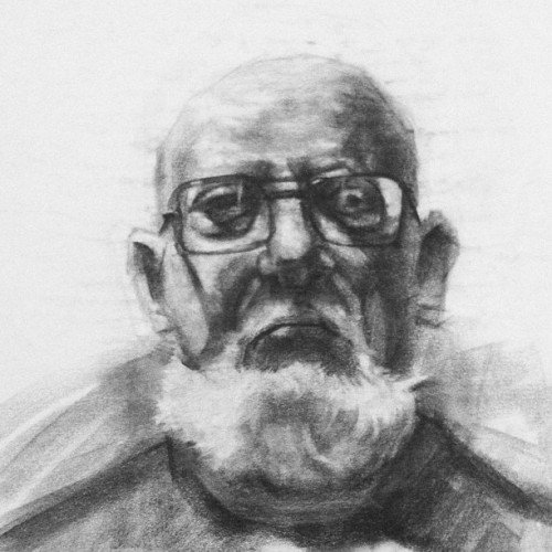 #charcoal #portraits study (Taken with Instagram)