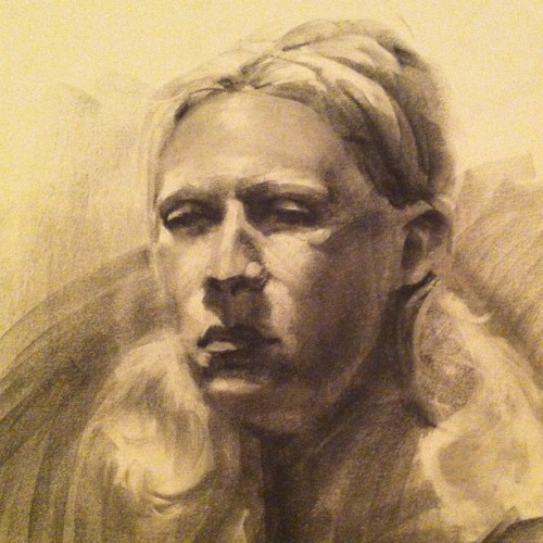 #flashbackfriday #charcoal #portraits  (Taken with Instagram)