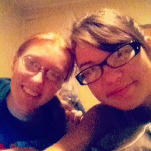 Lynzie&I!! (Taken with Instagram)