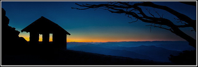 sunrise. Mt Buffalo by Adam_Williams on Flickr.