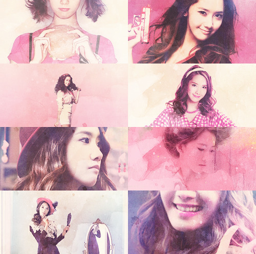 picspam/color: yoona + pink - requested by anon