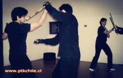 Photograph edited by me from our workouts eskrima (filipino martial arts) ^_^