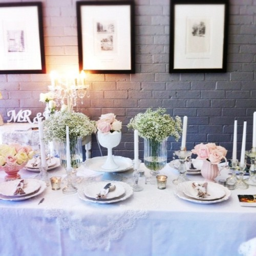 At the #wedding #upmarket #pastel #vintage #instagood #instaweb #love #instagram #sogood #baskinginromance (Taken with Instagram)