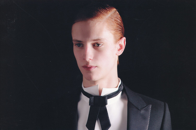 garcon-portraits:  Chris Ullyat in Fashion News Men's Vol. 112 2006-7 AW Paris Milan Men's Collection