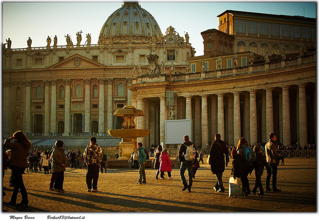 | ♕ | Rome - St. Peter's Square | by © Moyan Brenn