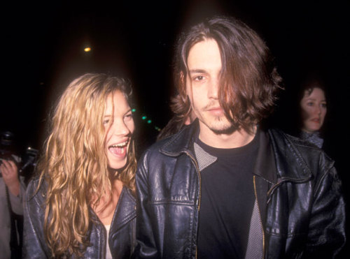 hunting-you:   lualit:  kate moss and johnny depp  love them