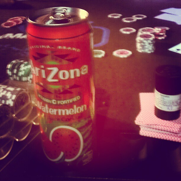 #friday #night #pokergame #Arizona's (Taken with Instagram)