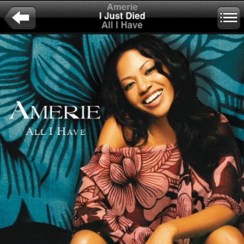 #amerie under appreciated album. (Taken with Instagram)