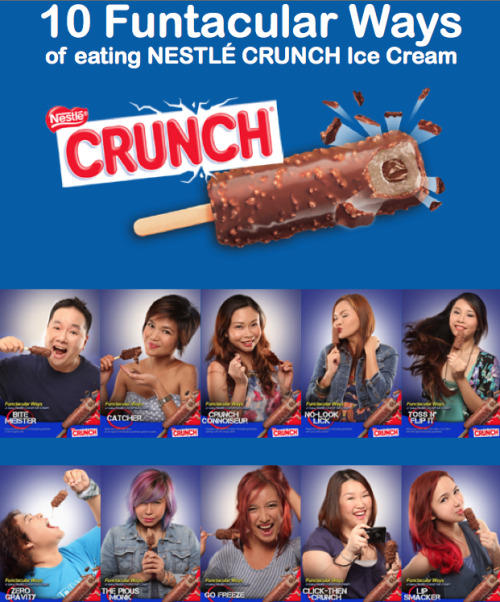 Hee, this was launched today! I'm hoping Nestle PH uploads the BTS video because I missed the beginning.