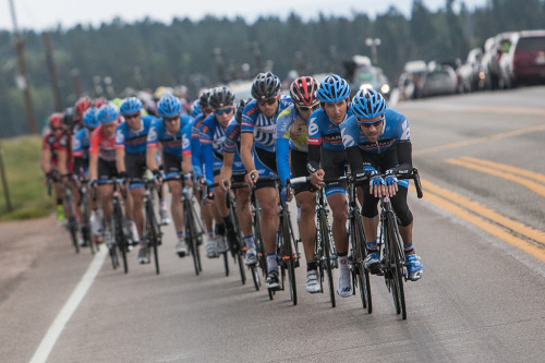 USA Pro Challenge, stage 5 by Team Garmin-Sharp-Barracuda on Flickr.